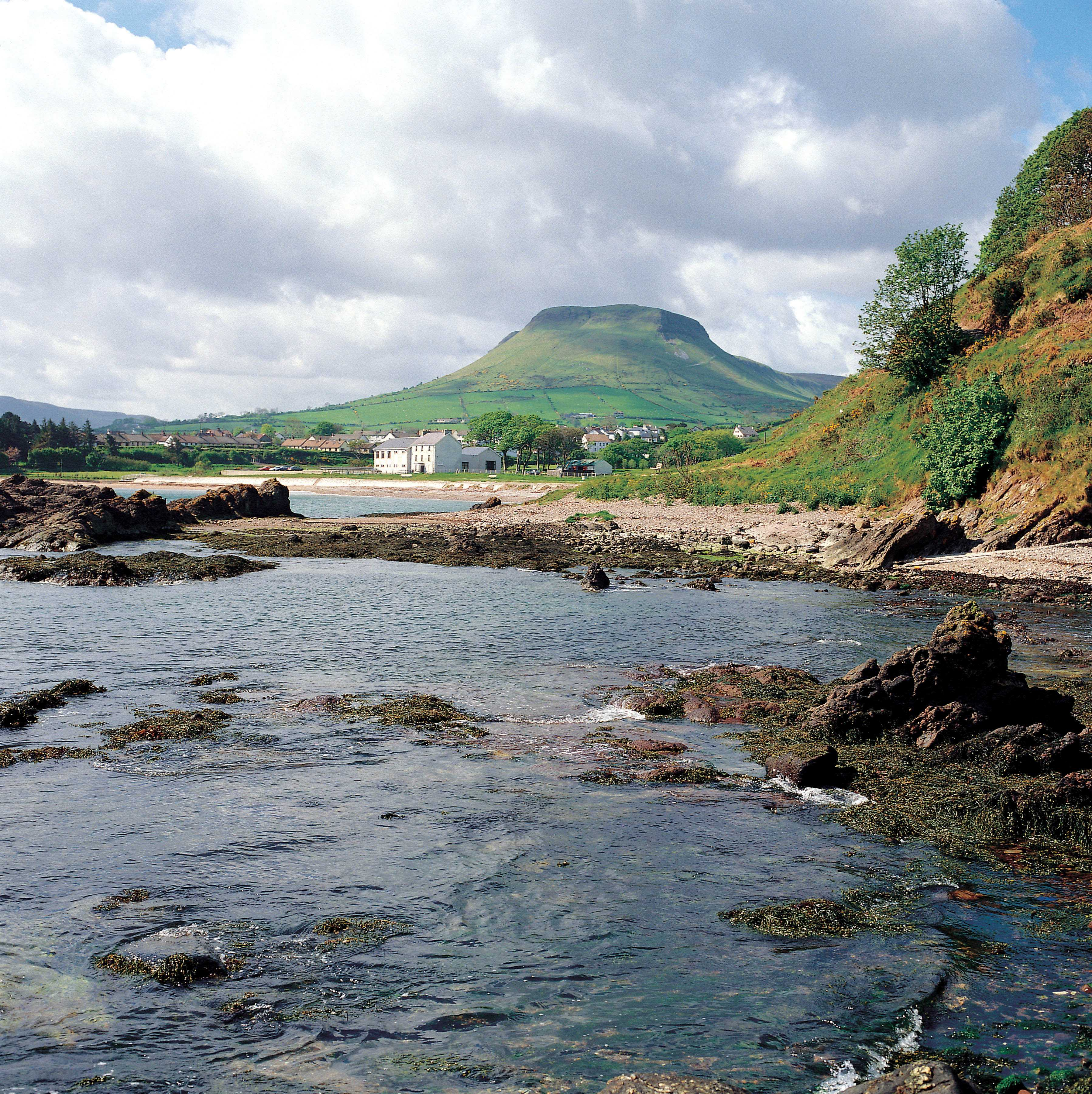 Cushendall, Beach and Lurig Mountian
